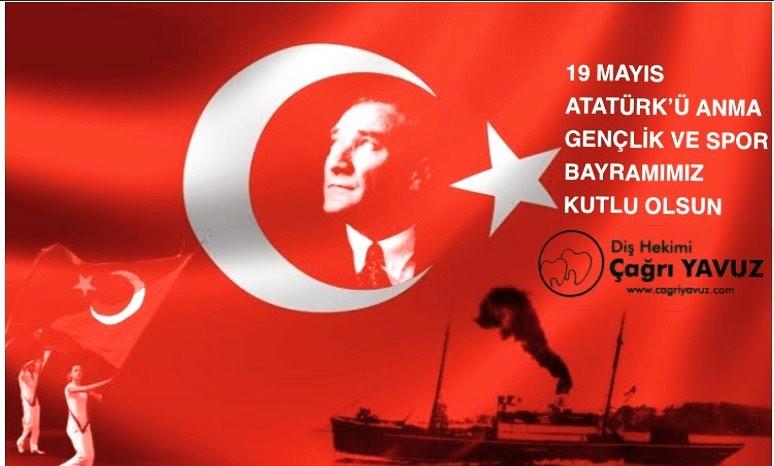 19 Mayıs Atatürkü Anma Gençlik ve Spor Bayramını kutluyor Önderimiz