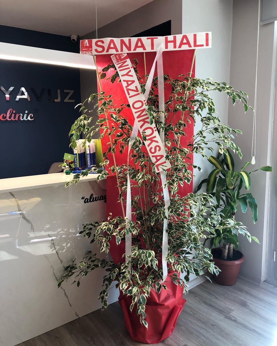 Bu güzel çiçeğimiz için değerli abim Osmaniye Sanat Halının Sahibi