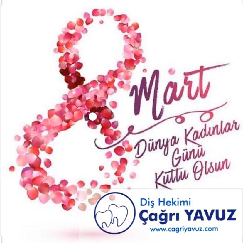 Bütün kadınların 8 Mart Dünya Kadınlar Gününü kutluyor eşitlik özgürlük