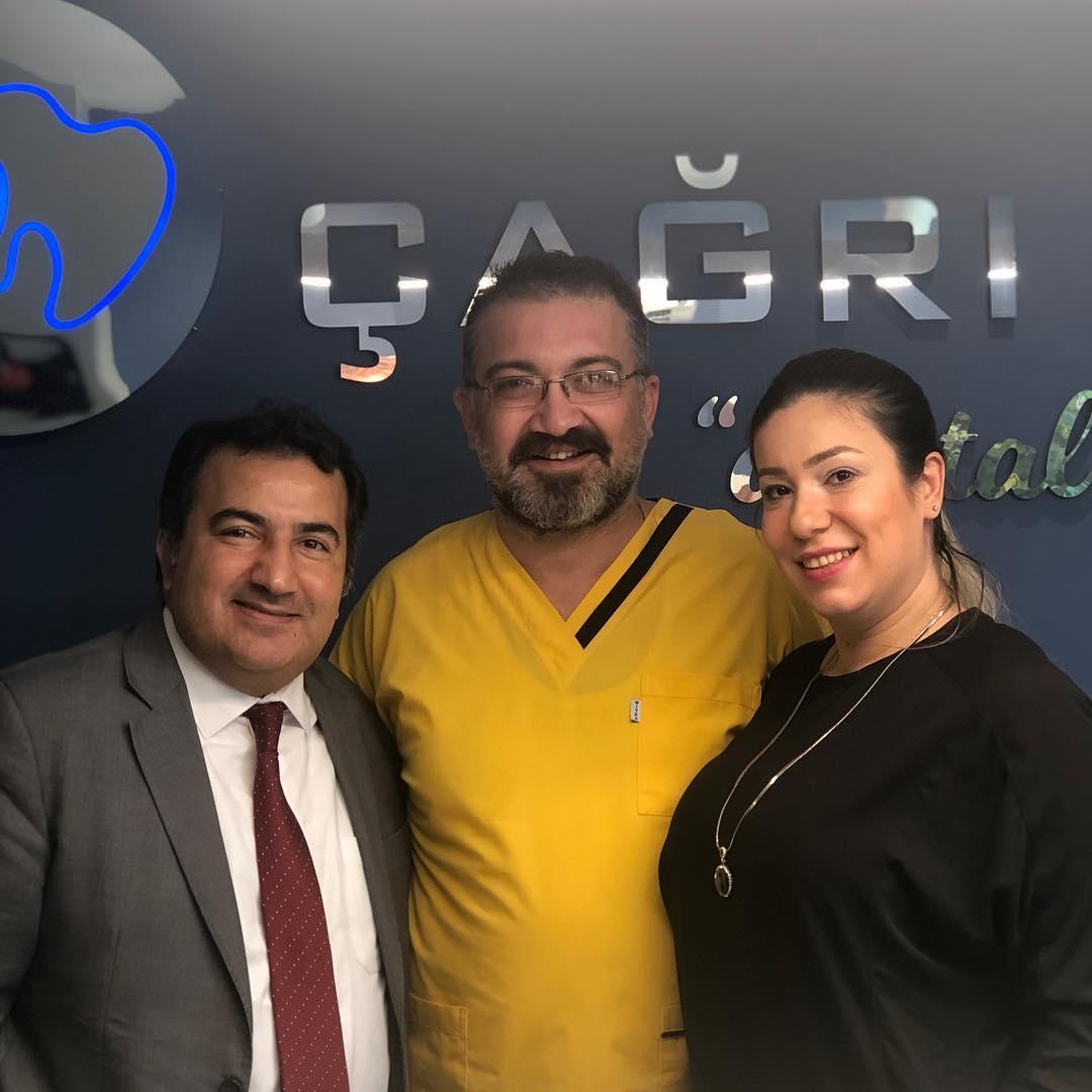 Değerli dostumuz Garanti Bankası Müdürü Murat Beye ziyaretinden dolayı teşekkür